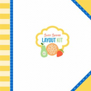 Picture of Sweet Summer Layout Kit