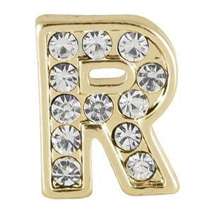 Picture of Gold 'R' Charm
