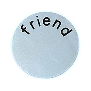 Picture of 'Friend' Medium Silver Coin