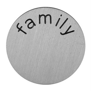 Picture of 'Family' Mini Silver Coin