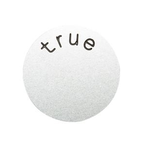 Picture of 'True' Medium Silver Coin