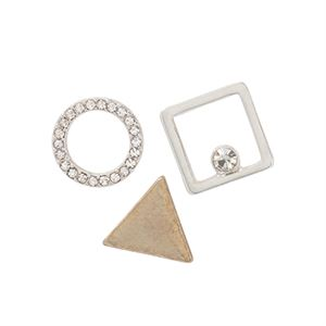 Picture of Locket Shapes 3pk