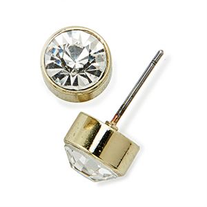 Picture of Victoria Stud Gold Earrings